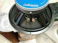 "2 x 12"" 250w rms 500w speakers unused boxed"