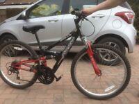Apollo FS24 mountain bike bicycle kids childs