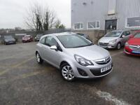 Vauxhall Corsa EXCITE (silver) 2014-12-15