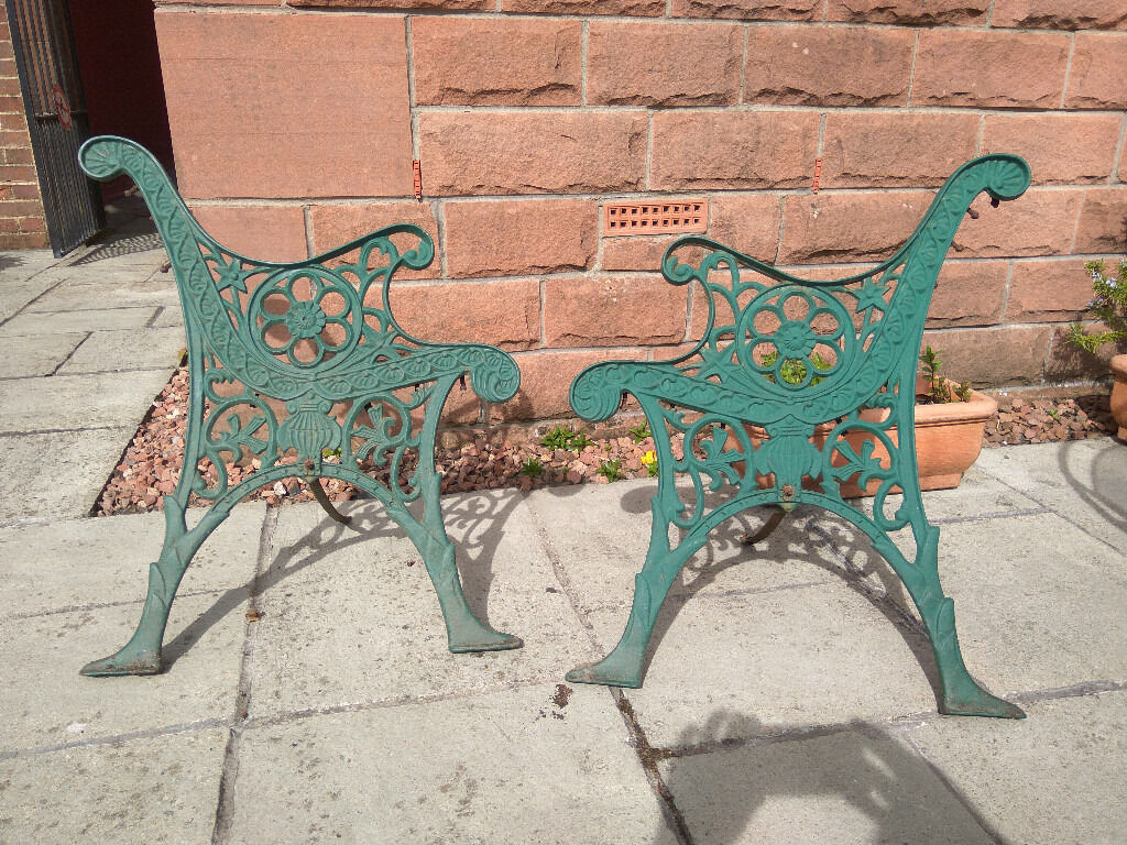 Pair Of Vintage Cast Iron Garden Bench Ends In Southside Glasgow Gumtree