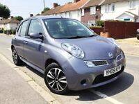 2009 NISSAN MICRA 1.2 ACENTA AUTO 5DR,45000 MILES ONLY,NEW MOT AND FULL SERVICE DONE,BARGAIN.