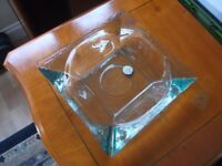 Large Glass Square Dish Handmade by San Miguel