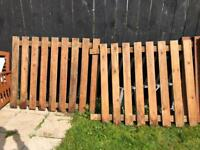 Wooden Fence & posts