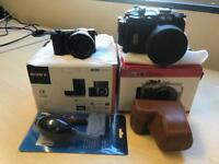 Sony a5100 mirrorless camera + kit lense + Meikon Waterproof casing