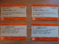 Tickets London to Southampton Bank Holiday Weekend