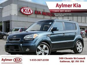 2011 Kia Soul 4U Luxury, Leather and Sunroof! Leather and Sunroo