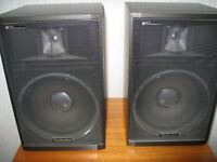 Two (2) Technics Speakers