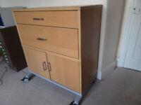 Beechwood Study/Office cupboard