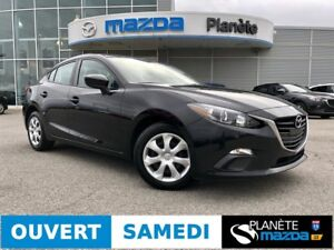 2015 MAZDA 3 GX MANUELLE AIR BLUETOOTH