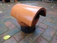 Chimney Pot Bonnet/Cap/Vent Insert 180mm