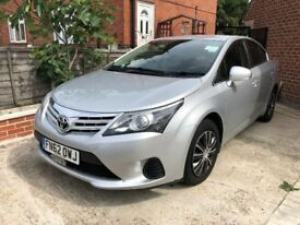TOYOTA AVENSIS D4D PRIVATE HIRE (CITY PLATE)