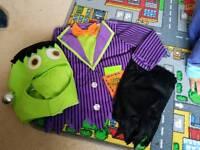 Frankenstein Halloween Outfit 2-3yrs