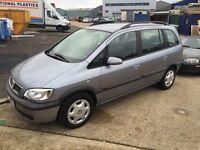 Vauxhall Zafira, 1.8, MOT, FSH, 7 seater