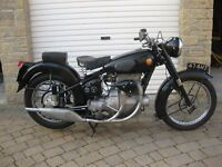 Sunbeam S8 Motorcycle 1957.