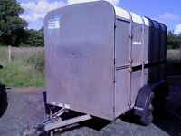 ifor williams 10 x 5 ft3 cattle trailer, lights and brakes working, good condition