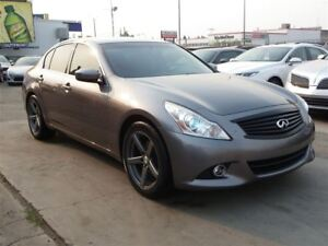 2012 Infiniti G37X Luxury AWD|B.CAMERA|LEATHER|SUNROOF