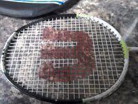 Wilson fierce !icro carbon badmington racket