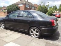 PCO registered TOYOTA AVENSIS D-4D T180 Diesel Saloon Reg.57 year 2007 Leather, SAT/NAV for sale