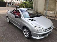 2004 Peugeot 206 CC 2.0 Allure 2dr (a/c) Convertible Good Car @07445775115