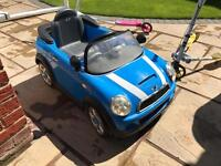 Child's electric car