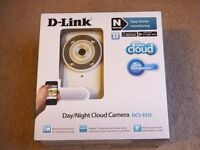 D-Link DCS-932L Wireless Day/Night Cloud IP Home Camera / Surveillance Camera