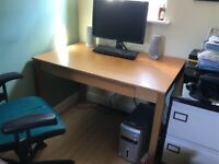 Study and sturdy Ikea desk