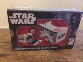 Brand new Star Wars stormtrooper virtual reality viewer