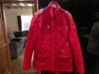 BARBOUR LADIES SIZE 12 JACKET . VERY GOOD CONDITION HARDLY WORN