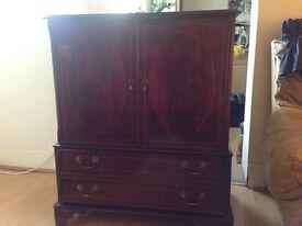 tv mahogany cabinet
