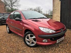 Peugeot 206 XSi *Watch Video* Long MOT no advisories Service History Just Serviced 3 Months Warranty