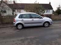 VW POLO 2002 PETROL 1.4 5 DOORS ,GOOD ENGINE AND GEARBOX, 750 ONO.