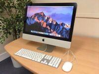 iMac 21.5 Apple C2D 3.06Ghz 8Gb 500Gb HDD Microsoft Office Vectorworks DaVinci Resolve AutoCad Maya