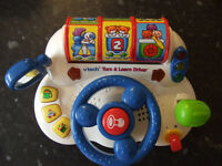 Vtech turn and learn driver toy