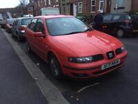 2001 seat Leon 1.8 20v Turbo cuppa red