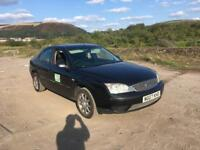 2007 Ford Mondeo BREAKING for parts 1.8 16v Petrol Black Taxi