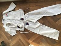 2 Children's Karate Suits for 7-9 & 9-11 year olds