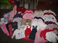 BABY CLOTHES HUGE COLLECTION–Kit out Baby for over a year!1st Size-18 months;incl. GrowBags,Bibs,etc