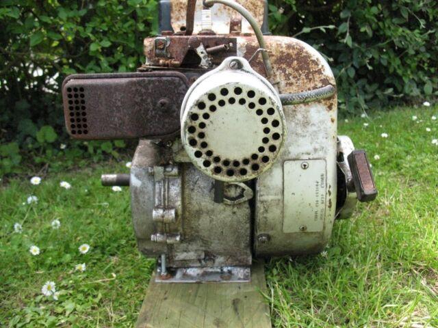 vintage tecumseh h 50 petrol engine 5hp stationary engine go kart mini bike  shredder engine etc   in Burnham-on-Sea, Somerset   Gumtree