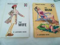 'The Wife' and 'The Mum' ladybird for grown-ups books