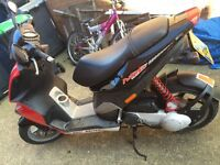 50cc moped piaggio nrg swap pushbike an cash