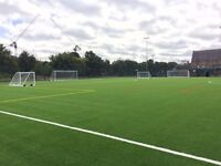 We need 4 more players for a 8 a side football game this Saturday at 5pm in Hackney.