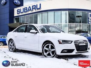 2013 Audi A4 2.0T, Leather,roof,nav.