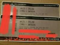 RBS 6 NATIONS 2017 WALES V IRELAND