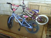 Childrens Bikes 2 for £40