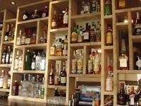 Bar / Restaurant Manager: Full time, salaried with incentive bonus structure