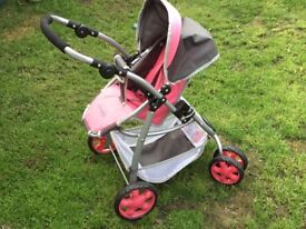 Dimples Baby Doll Stroller/Buggy