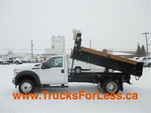 2012 ford F-550 XLT 4X4, NEW 11 Ft DUMP BOX!!!