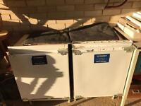 Indesit integrated fridge and freezer