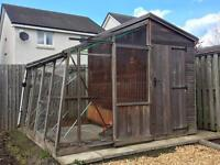 Red Cedar Greenhouse/ Potting Shed