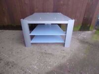 Frosted Glass Tv Stand Delivery Available
